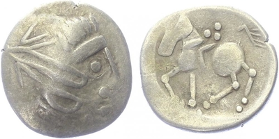 Statér, Hlava / Jezdec