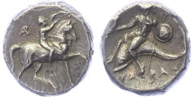 Calabria - Didrachma, SG.0383