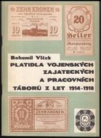 Platidla vojenských zajateckých a pracovních táborů z let 1914 - 1918