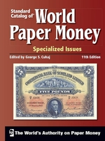World Paper Money, Specialized Issues, 11. vydání