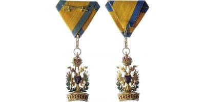 Řád železné koruny, III. třída s válečnou dekorací