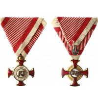 Záslužný kříž, zlatý na civilní stuze