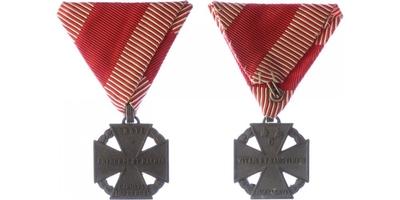 Karlův vojenský kříž, zinek, Marko.419a