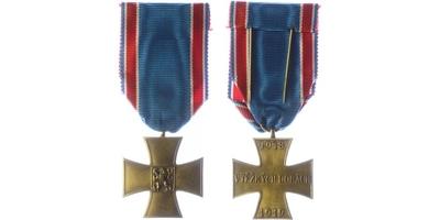 Pamětní odznak československého dobrovolce z let 1918 - 1919