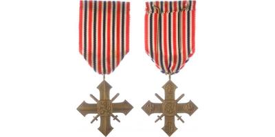 Československý válečný kříž, pražské vydání, hezká patina, VM.11
