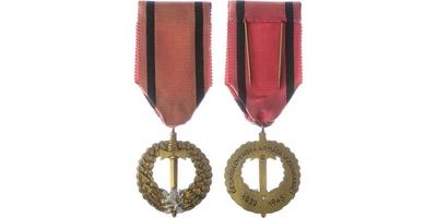 Pamětní medaile československé armády v zahraničí, vydání Praha 1945, VM.14-C