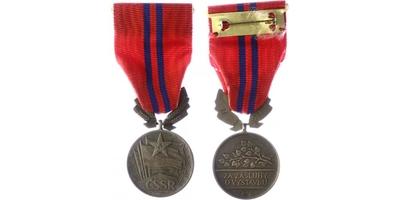 Vyznamenání Za zásluhy o výstavbu, II. vydání, stříbro, punc., číslo 2970, Zukov Prah