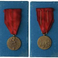 Medaile Za službu vlasti, I. vydání, originální etue VM.44-I,