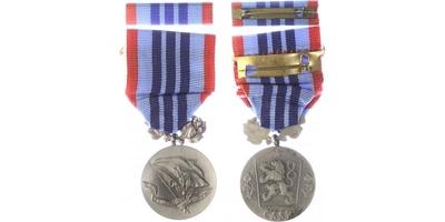 Medaile Za pracovní věrnost, II. vydání, stříbro, punc., mincovna Kremnica,VM.47-II,