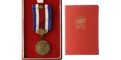 Medaile Za obětavou práci pro socialismus, VM.62