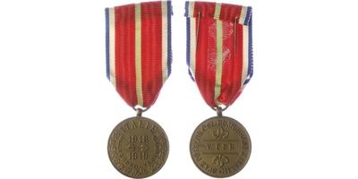 Pamětní odznak svazu příslušníků bývalé československé domobrany z Italie