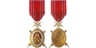 DOK - Čestný odznak - Důstojnický stupeň I. třída, VM. 74