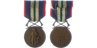 Pamětní medaile 10. střeleckého pluku Jana Sladkého Koziny