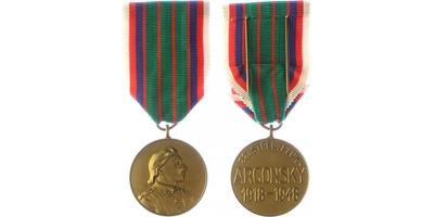 Pamětní medaile 22. strěleckého pluku Aragonského