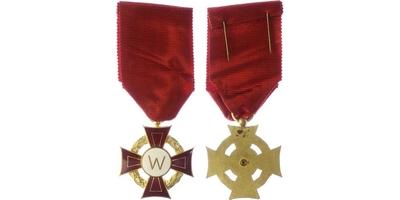 Pamětní kříž Weidmannovy západočeské odbojové skupiny, II. třída