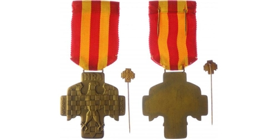 Pamětní medaile Národní revoluční armády Brno