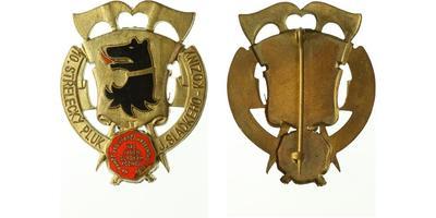 Pamětní odznak 10. střeleckého pluku Jana Sladkého Koziny