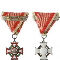 Vojenský záslužný kříž III. třídy válečnou dekorací 2x udělená