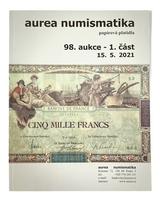 98. aukce bankovky 1. a 2. část