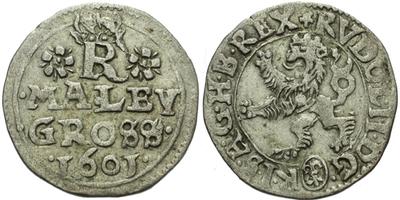 Malý groš 1601, Jáchymov-Taubenreutter, HN.9