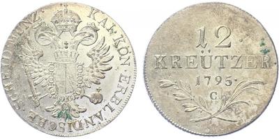 12 krejcar 1795 C