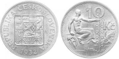 10 koruna 1932