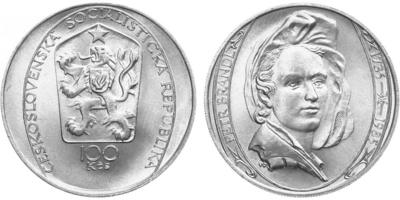 100 Koruna 1985 - Petr Brandl
