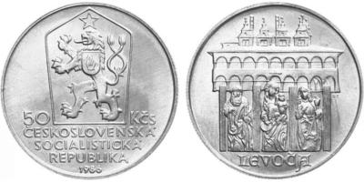 50 Koruna 1986 - Městká památková rezervace Levoča