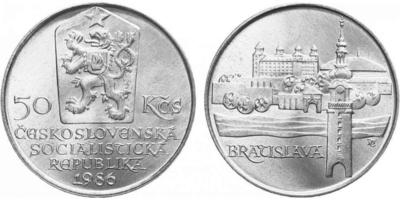 50 Koruna 1986 - Městká památková rezervace Bratislava