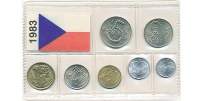 Ročníková sada mincí 1983