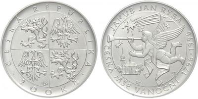 200 Kč 1996 - Jakub Jan Ryba, běžná kvalita