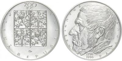 200 Kč 1998 - František Palacký, běžná kvalita