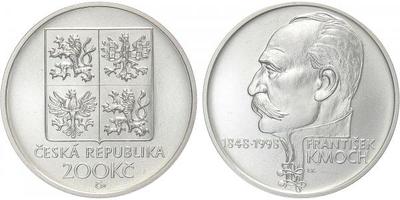 200 Kč 1998 - František Kmoch, bežná kvalita