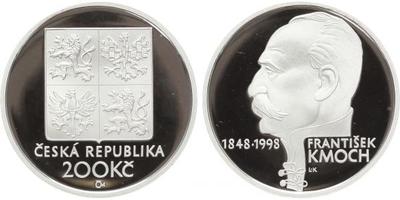 200 Kč 1998 - František Kmoch, PROOF