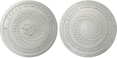 200 Kč 2000 - Mezinárodní měnový fond, běžná kvalita