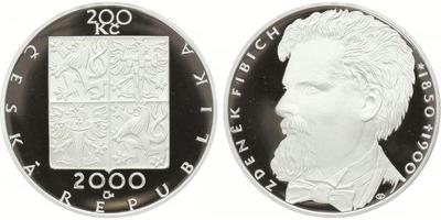 200 Kč 2000 - Zdeněk Fibich, PROOF