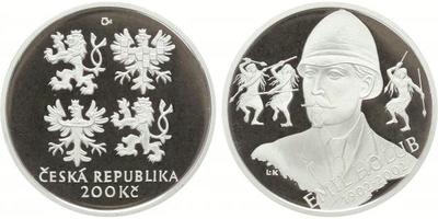 200 Kč 2002 -  Emil Holub, PROOF
