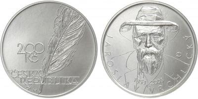200 Kč 2003 - Jaroslav Vrchlický, běžná kvalita