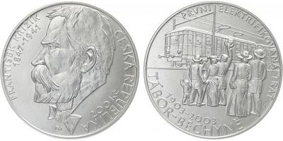 200 Kč 2003 - František Křižík, běžná kvalita