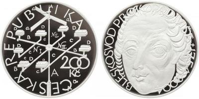 200 Kč 2004 - Prokop Diviš, PROOF