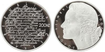 200 Kč 2007 - Jarmila Novotná, PROOF