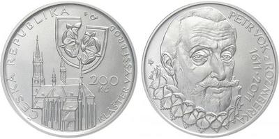 200 Kč 2011 - Petr Vok z Rožmberka, běžná kvalita