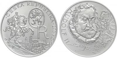 200 Kč 2012 - Rudolf II., běžná kvalita