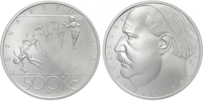 500 Kč 2012 - Jiří Trnka, běžná kvalita