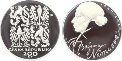 200 Kč 2020 - 200. výročí narození Boženy Němcové, PROOF