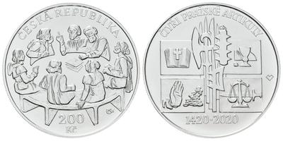 500 Kč 2019 - 100. výročí zahájení vydávání československých platidel, běžná kvalita
