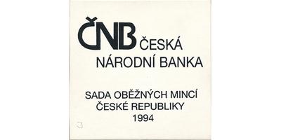 Ročníková sada mincí 1994, mincovna Hamburg, Jablonec