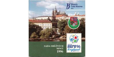 Ročníková sada mincí 1996 - Euro