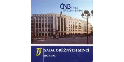 Ročníková sada mincí 1997