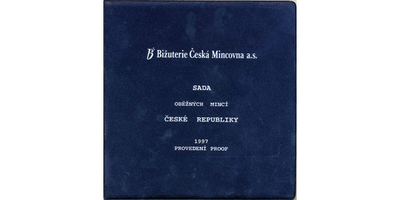 Ročníková sada mincí 1997, PROOF